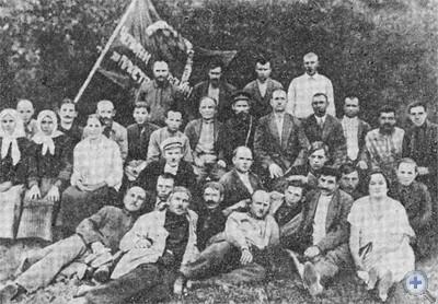 Члены Ордо-Василевского боевого отряда. Фото 20-х годов.