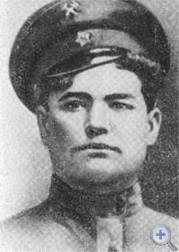 И. А. Лантух — один из активных участников борьбы за установление Советской власти на Екатеринославщине.
