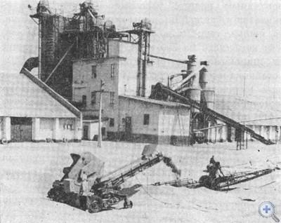 Новоингулецкий хлебоприемный пункт. 1976 г.