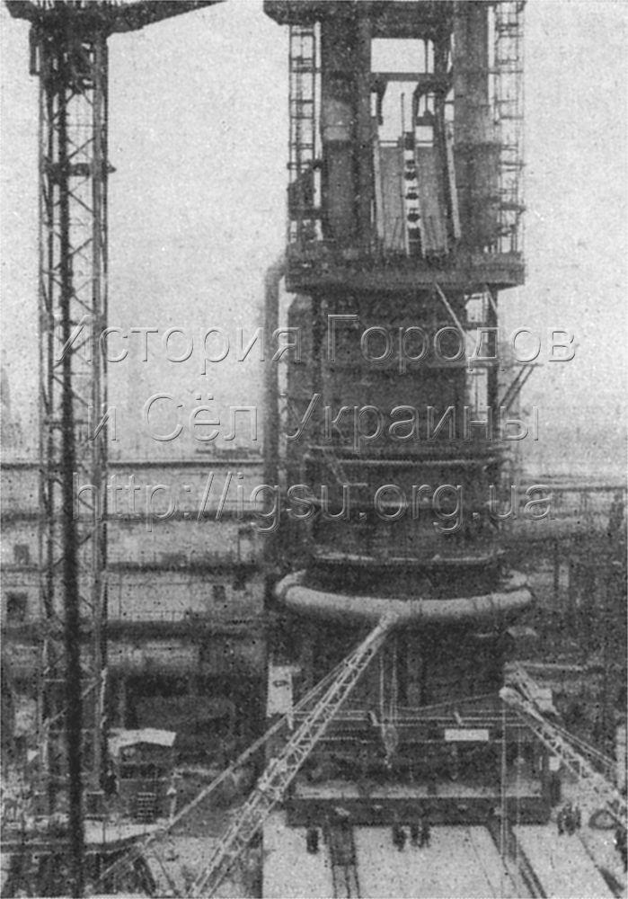 Днепродзержинская ГЭС. 1976 г.