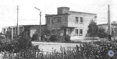 Дом быта в пос. Тополях, 1975 г.