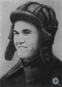 Герой Советского Союза лейтенант Е. П. Жилин. Фото 1941 г.