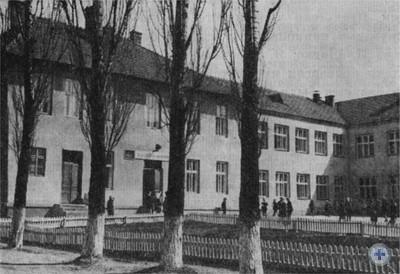 Средняя школа в Чайковичах. 1977 г.