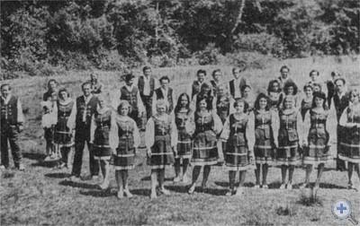 Самодеятельный хор с. Нагорного. 1975 г.