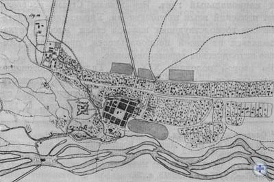 План Стрыя. XVIII в.