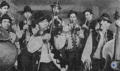 Ансамбль свирельщиков. Верхняя Яблонька, 1977 г.