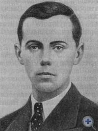 Ю. Великанович — активный деятель комсомола Западной Украины, участник гражданской войны в Испании. Фото 1935 г.