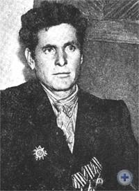 Полный кавалер ордена Славы И. Г. Дитюк. Затишье, 1964 г.