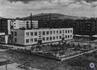 Новостройки на ул. Красной Армии. Берегово, 1980 г.